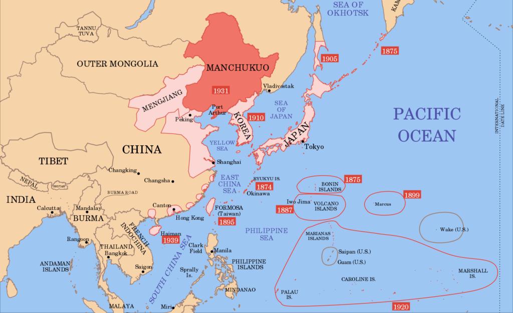 Manchuria 1931  Enemy in the Mirror