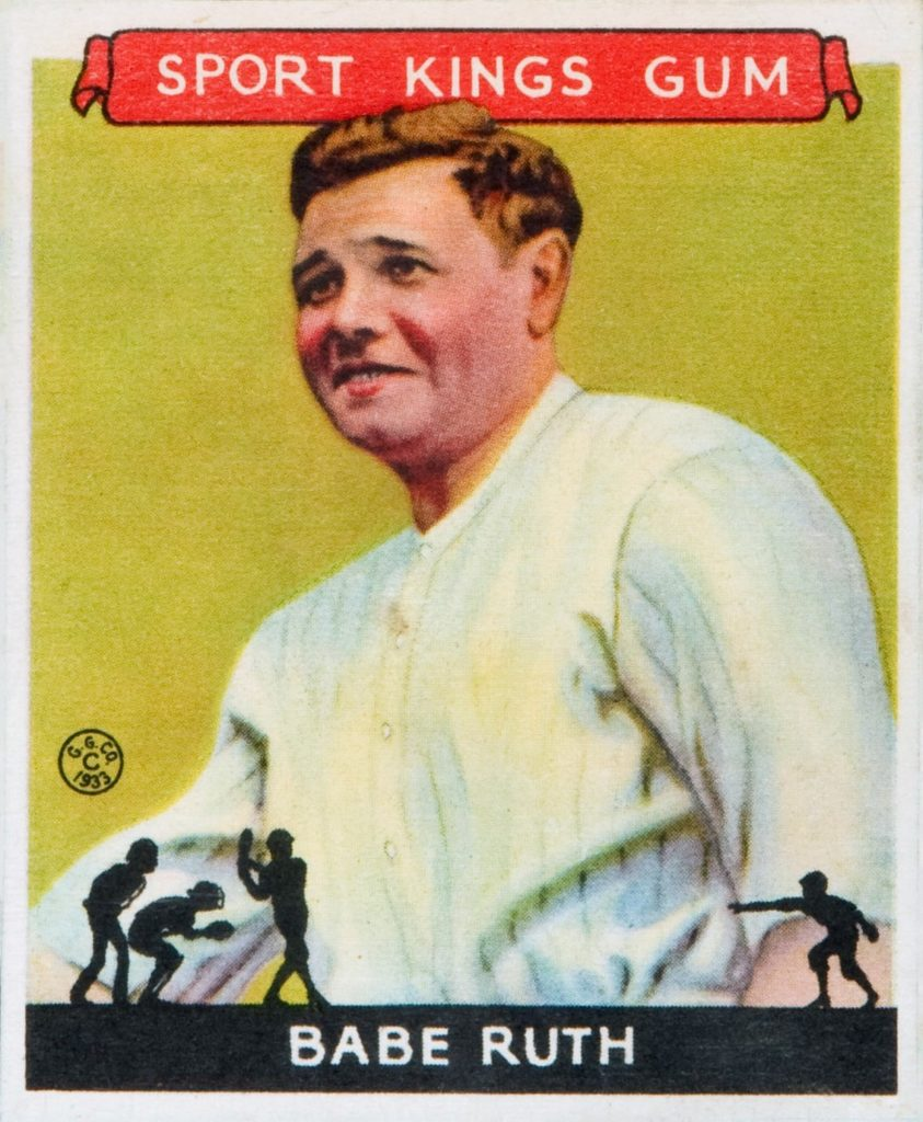 Babe Ruth Calls a Homer