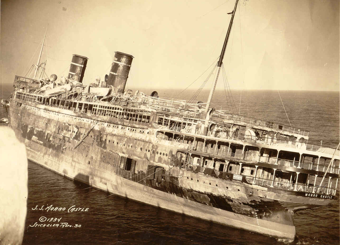 Steamship Morro Castle Disaster