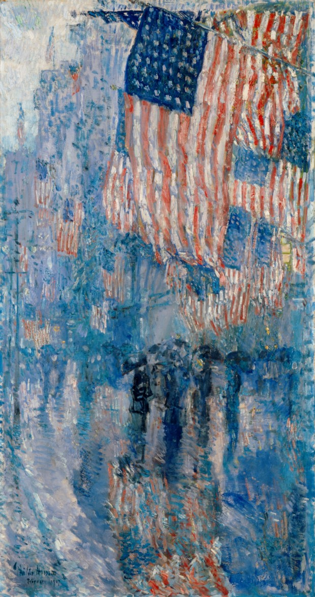 Childe Hassam 1917; Wikimedia Commons