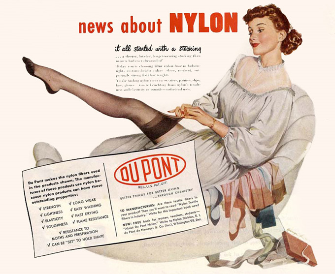 life and discoveries of wallace carothers Meanwhile a whole host of inventions improved life for people during the 19th  nylon was first made in 1935 by wallace carothers and polyester was invented in.