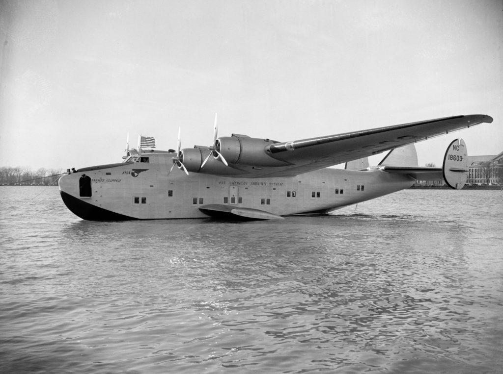 Pan Am Crosses the Atlantic