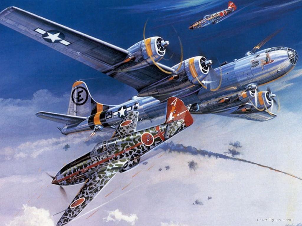 B-29s Blast Japan