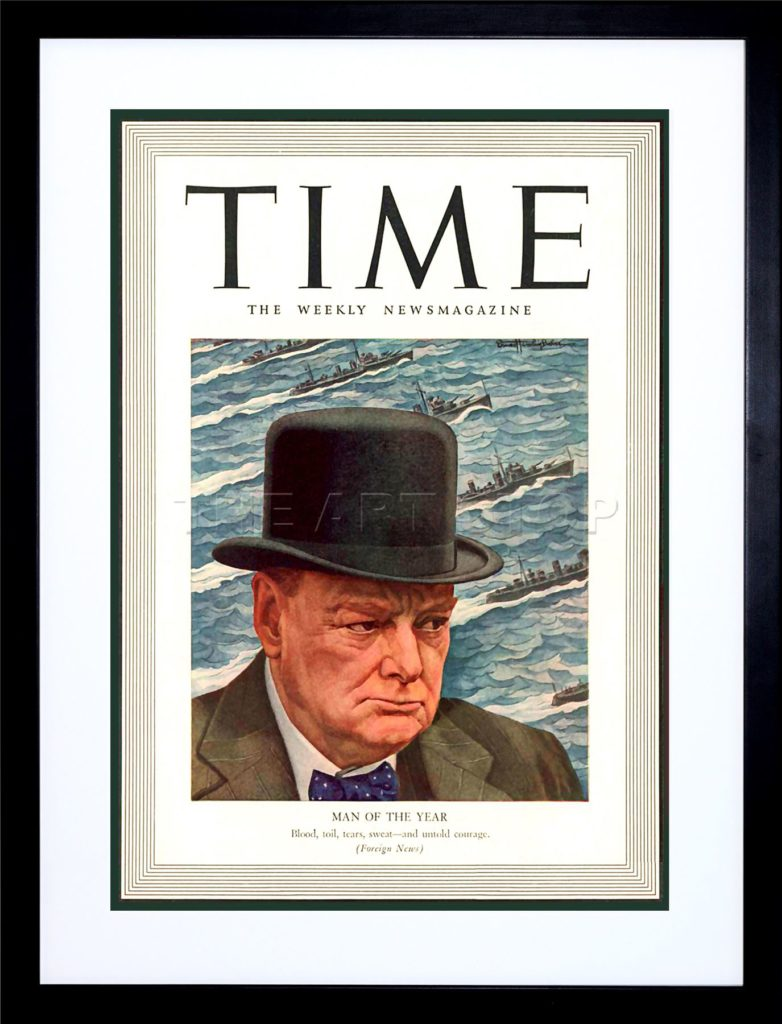 Winston Churchill: Time Magazine Person of the Year