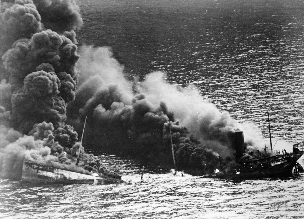 U-boat Sinks Tanker