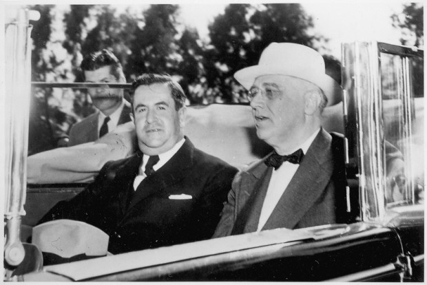 Presidents FDR and Avila Camacho