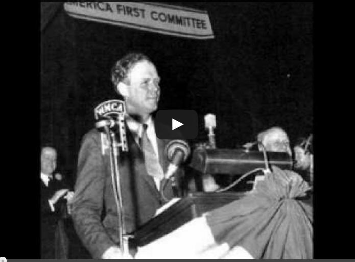 Charles Lindbergh – America First