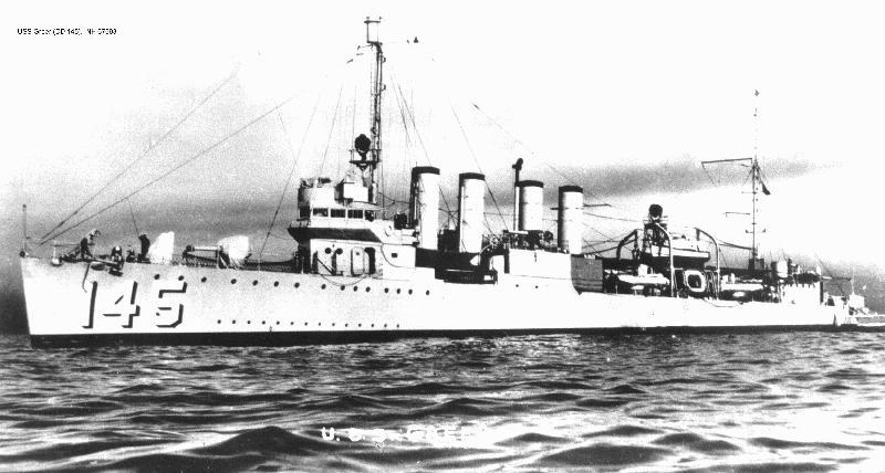 U.S. Destroyer Attacks U-Boat
