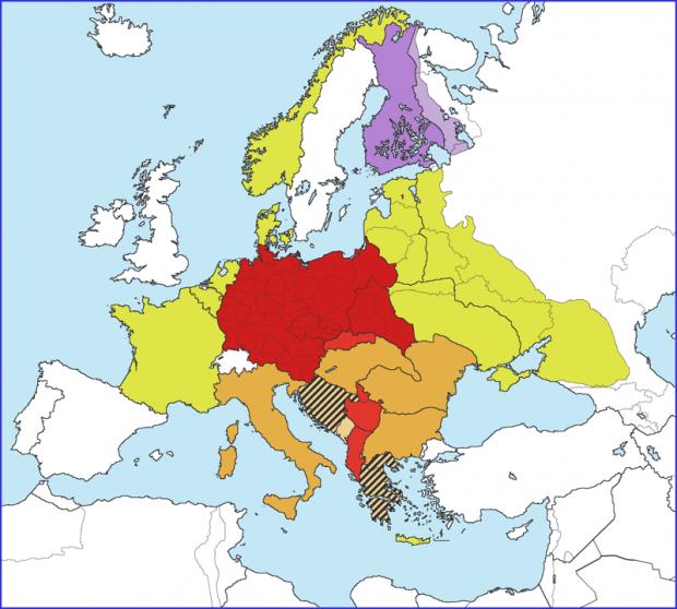 Großdeutsches Reich (Greater Germany) 1942