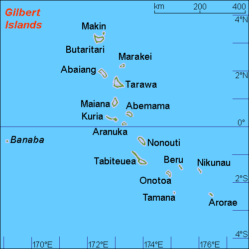 Gilbert Islands; Wikimedia Commons