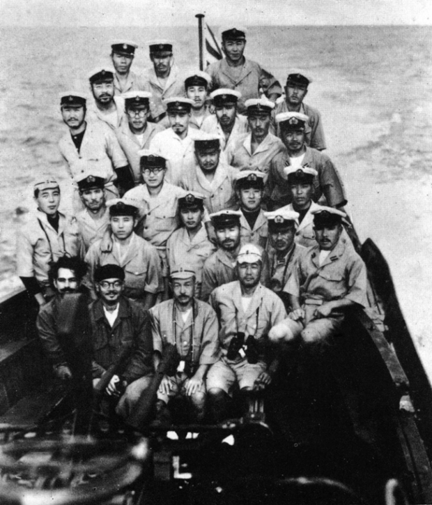 Imperial Japanese Navy submarine I-29 crew; Wikimedia Commons