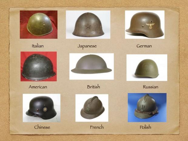 HELMETS WWII.001