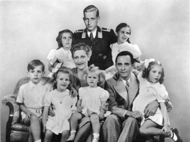 Josef Goebbels and family; Wikimedia Commons