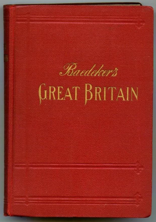 1937 Baedeker travel guide ; Wikimedia Commons