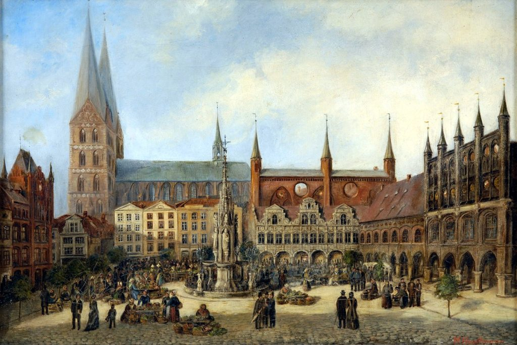A Visit To The L 252 Beck Marienkirche Enemy In The