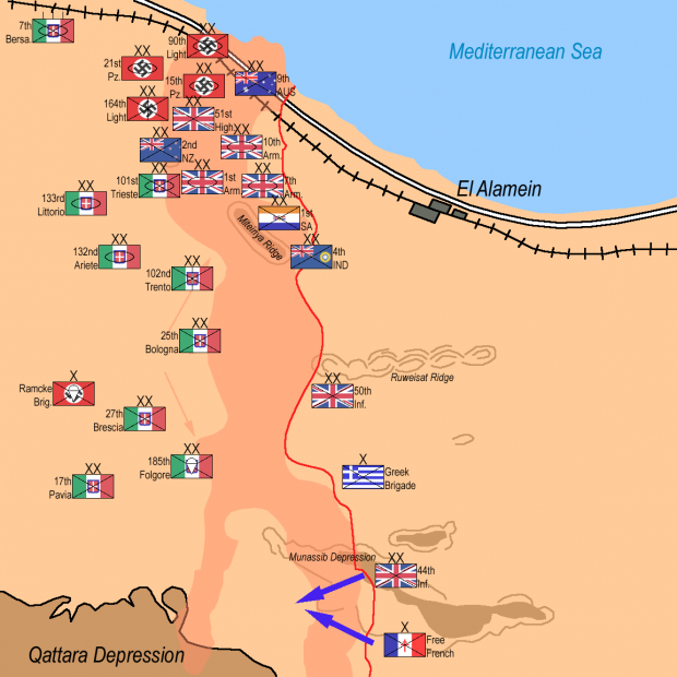 2nd Battle of Alamein; Wikimedia Commons