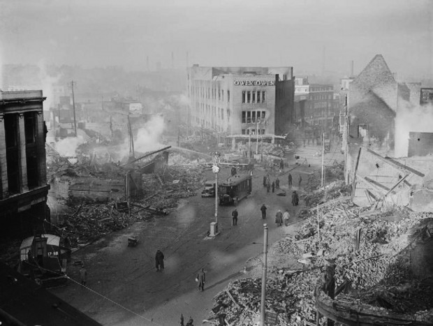 Coventry Nov. 1940; Wikimedia Commons
