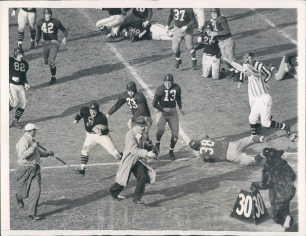 Bears vs. Redskins 1942