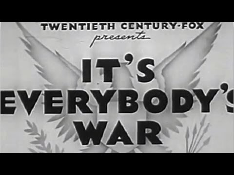 It's Everybody's War
