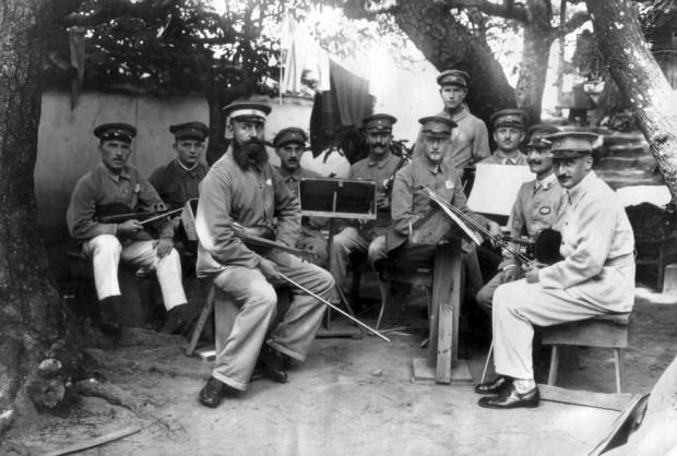 WWI German POWs in Japan