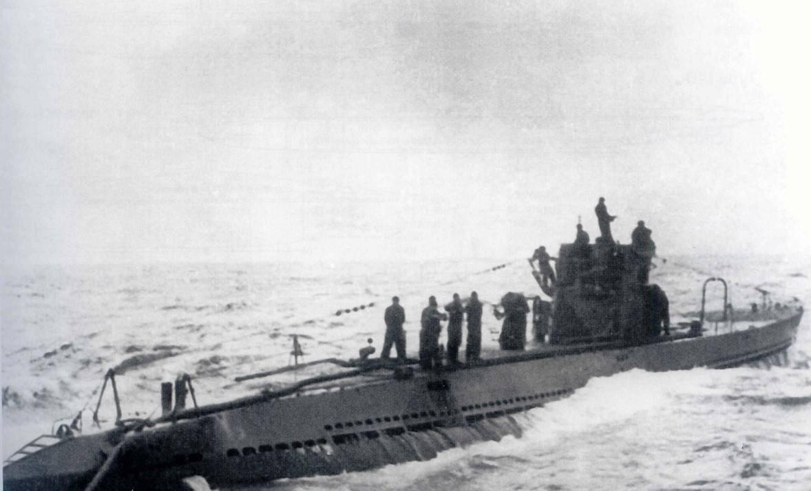 U-Boat Milchkuh Resupply