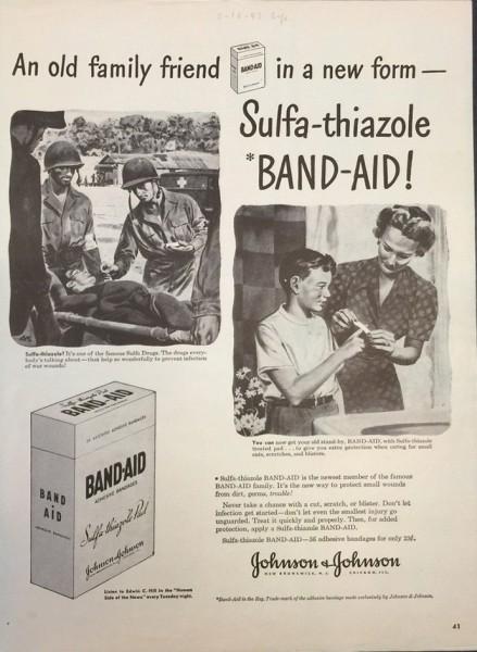 BAND-AID-ad-WWII-LIFE-Magazine-1943-439x600