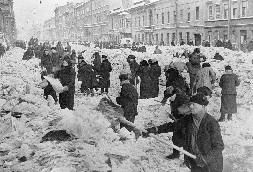 Christmas at Leningrad