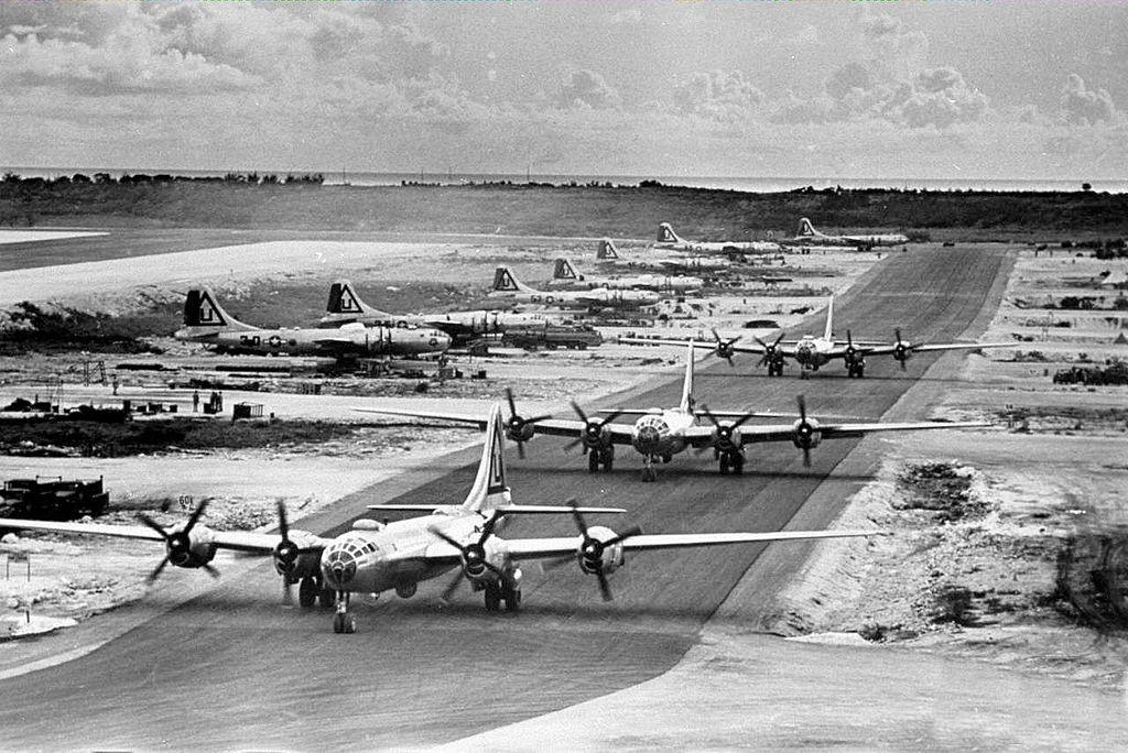 Bombing Japan from Marianas