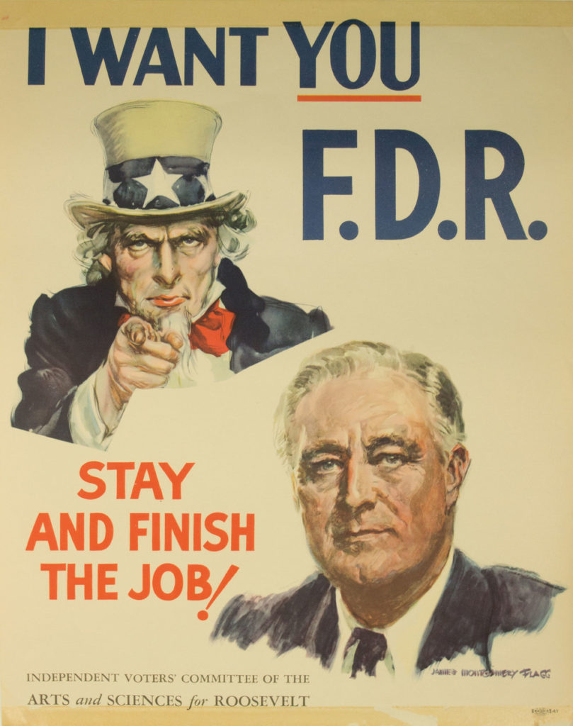FDR Re-Elected