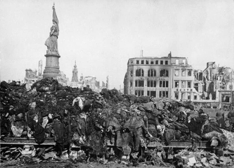 Dresden Firebombed