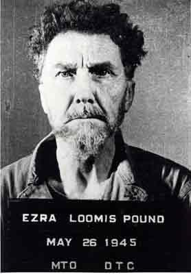 Ezra Pound Arrested