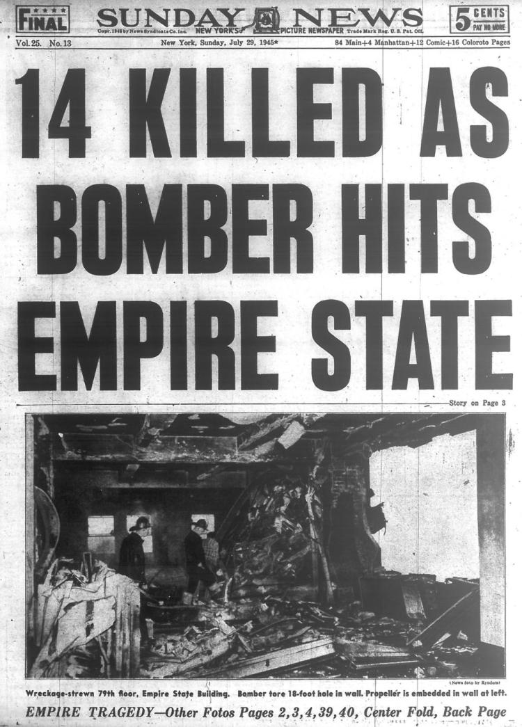 B-25 Strikes Empire State