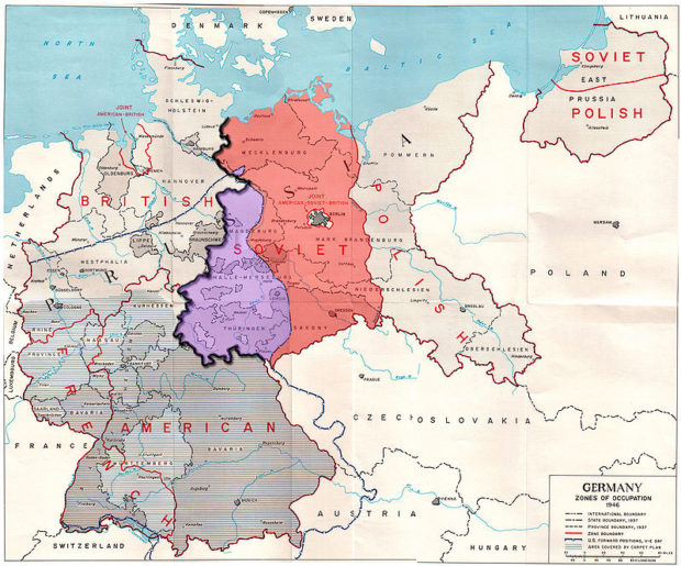 in 1946 with increased cold war tension arising between the allies the agreement to govern germany as a single unit through the allied control council