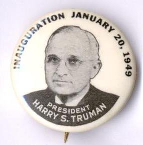 Truman Begins Second Term