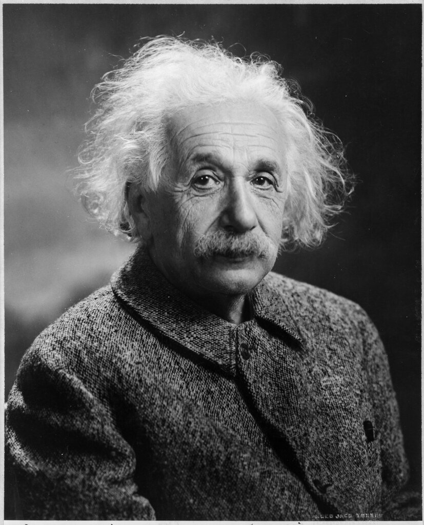Einstein Warns of Arms Race