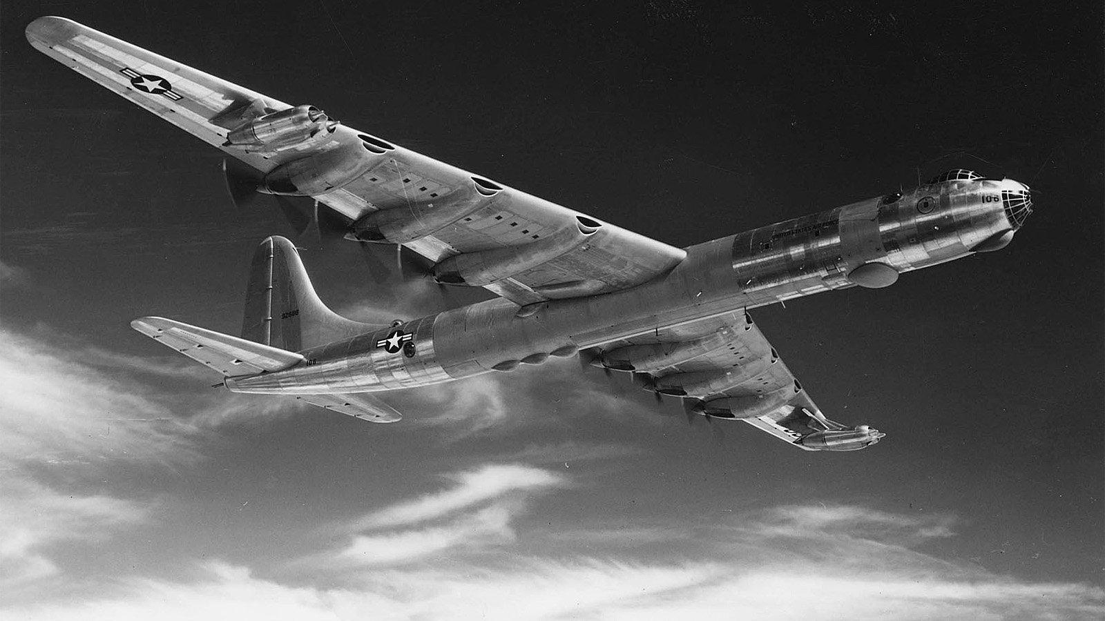 B-36 Crash~British Columbia