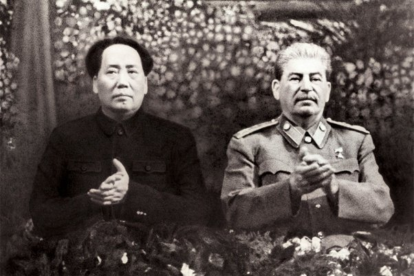 Mao and Stalin