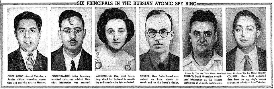 Nuclear Espionage