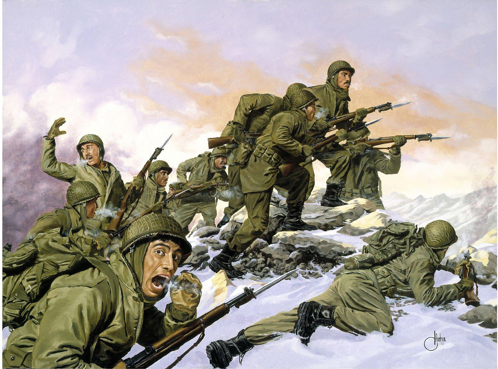 U.S. , Chinese and North Korean Winter Uniforms