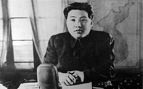 Kim Il-sung pre-Korean War