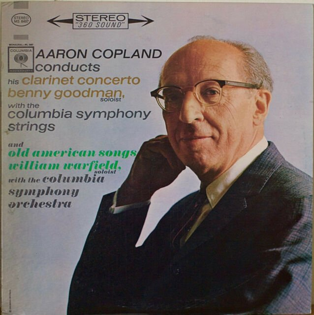 Aaron Copland Clarinet Concerto