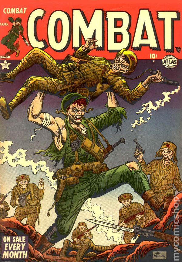 Korean War Comic Books