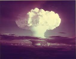 First H-Bomb Test on Eniwetok Atoll