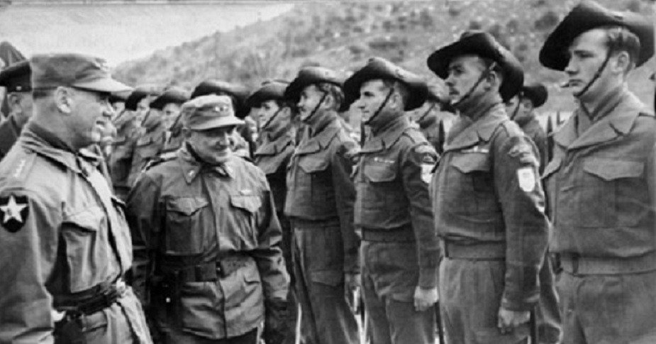 Commonwealth Forces in Battle of Kapyong