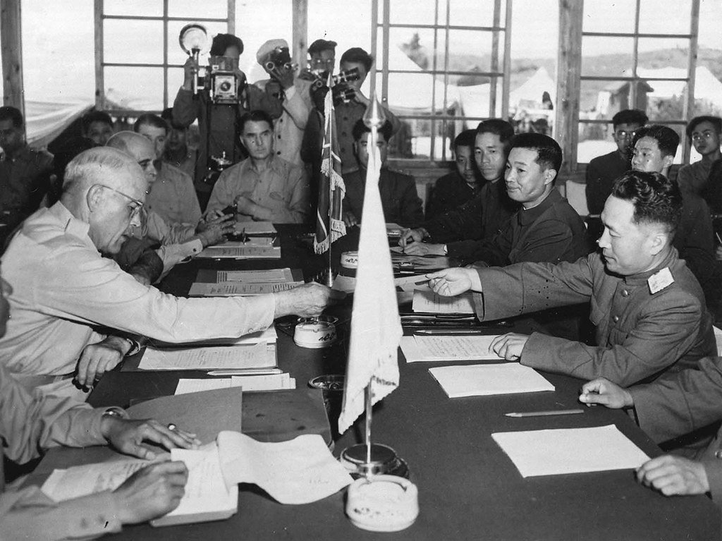 Korean War Armistice Talks Begin
