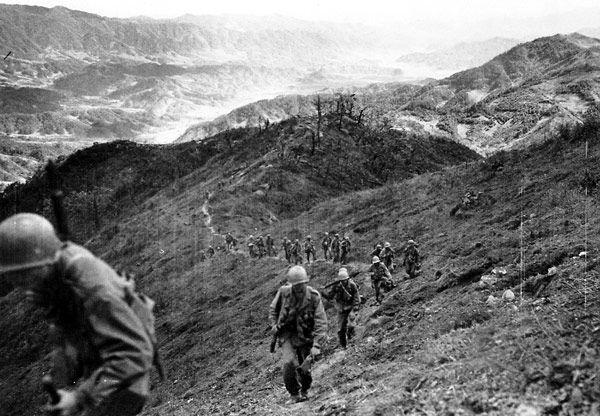 Battles of Bloody Ridge and Heartbreak Ridge