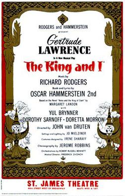 The King and I – Rodgers and Hammerstein