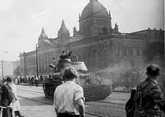 Riots in East Germany