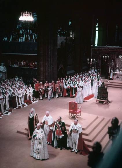 Coronation of Queen ElizabethII