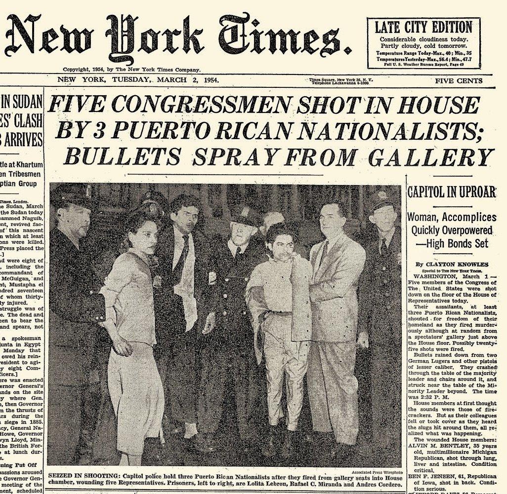Five Shot In U.S. Congress